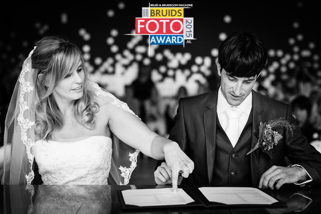 Bruidsfoto Award 2015 | Ceremonie